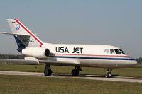 N823AA @ YIP - Falcon 20