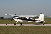N20550 @ YIP - Cessna 180