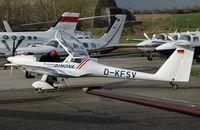 D-KFSV @ ZQW - Diamond Aircraft H36SD - by Volker Hilpert