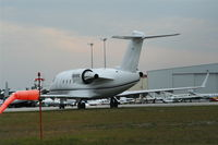 N814PS @ DAB - CL-600