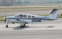 N329M @ PDK - Taxing to Epps Air Service - by Michael Martin