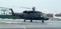 N85LF @ FRG - New S-92 visits Republic
