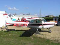G-BPBJ @ EGCL - Cessna 152 - by Simon Palmer