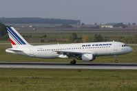 F-GFKU @ VIE - Air France Airbus 320