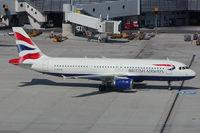 G-BUSK @ VIE - British Airways Airbus 320