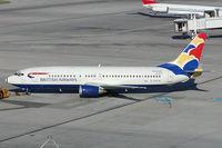 G-DOCB @ VIE - British Airways Boeing 737-400