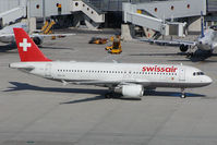 HB-IJK @ VIE - Swissair Airbus 320