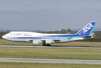 JA8955 @ VIE - All Nippon Boeing 747-400