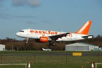 HB-JZG @ BOH - EASYJET AIRBUS A319 - by Patrick Clements
