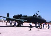 77-0181 @ NBU - A-10A at the open house - by Glenn E. Chatfield