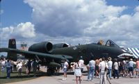 77-0195 @ OSH - A-10A at the EAA fly in - by Glenn E. Chatfield