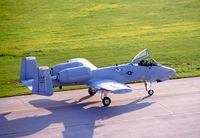 78-0650 @ CID - A-10A taxiing by the control tower - by Glenn E. Chatfield
