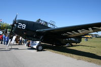 N108Q @ TIX - TBM-3 Avenger fake tail number- the real 23307 part of group that crashed in Bermuda Triangle