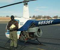 N8536Y @ LDJ - 36Y at Linden - Pilot A.C. dressed for Feb Aerials...