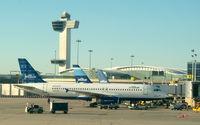 N591JB @ JFK - A Tale of Blue Cities at Gate 15