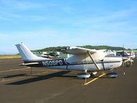 N505PD @ DVO - 1971 Cessna 182 visiting from Baker, OR @ Gnoss Field (Novato), CA