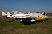 5C-YC @ GRZ - ex Austrian Air Force De Havilland DH 115 Vampire - by Yakfreak - VAP