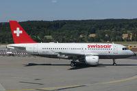 HB-IPW @ ZRH - Swissair Airbus A319