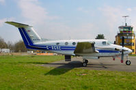 G-BGRE @ EDTF - Beechcraft King Air 200 - by J. Thoma