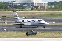 N336QS @ PDK - Execjet 336 taxing to Runway 2R - by Michael Martin