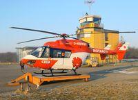 D-HWWW @ EDTF - Eurocopter BK-117 B2 - by J. Thoma