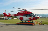 D-HMMM @ EDTF - Eurocopter BK-117 B2 - by J. Thoma