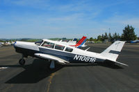 N10816 @ O69 - 1968 Piper PA-24-260 resting on its tail @ Petaluma, CA - by Steve Nation