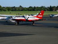 N27RX @ SAC - REACH 1977 Cessna 421 @ Sacramento Executive Airport, CA