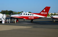 N51RX @ SAC - REACH Cessna 421C @ Sacramento Executive Airport, CA