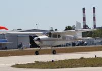 N180TR @ TIX - Cessna 180A