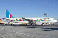 G-OOAE @ SZG - Air 2000 Airbus 320