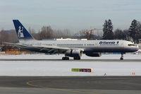 G-BYAK @ SZG - Britannia Boeing 757-200