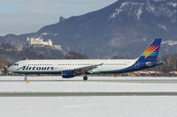 G-JSJX @ SZG - Airtours Airbus 321
