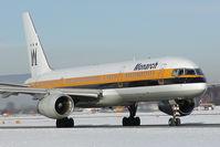 G-MONC @ SZG - Monarch Boeing 757-200