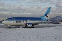 ES-ABD @ SZG - Estonian Airlines Boeing 737-500