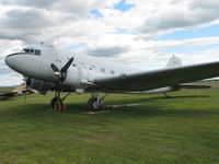 43-16141 @ BTV - Vermont ANG, Douglas C-47 (Skytrain) - by Timothy Aanerud