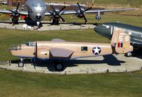 44-86843 @ GUS - TB-25N seen from observation tower. Flew in the movie Catch-22 - by Glenn E. Chatfield