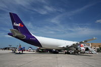 N740FD @ MCF - Fed Ex A300