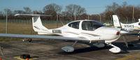N388MA @ FRG - DA40 at the Glass Cockpit Ramp - Hangar 2