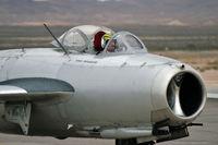 N87CN @ KLSV - Air Museum Planes of Fame - Chino, California / Mikoyan-Gurevich Mig-15 Fago - Aviation Nation - 2006