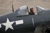 N106FG @ KLSV - Provenance Fighter Sales Inc. - Las Vegas, Nevada / 1945 Goodyear FG-1D Corsair - Aviation Nation - 2006