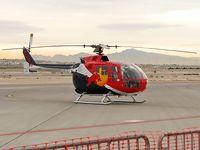 N154EH @ KLSV - Red Bull North American Inc. - Santa Monic, California / 1985 MESSERSCHMITT-BOELKOW-BLOHM S-704 - Aviation Nation 2006