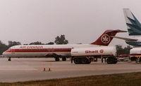 C-FTME @ CYQG - Air Canada DC-9 - by Florida Metal