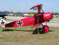 N2009V @ TIX - Fokker Triplane replica