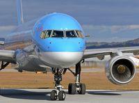 G-BYAN @ SZG - Boeing 757-204 - by Roland Bergmann