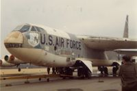53-0394 - B-52B at the Air Force Museum. Scrapped 1994, nose to Soplata collection - by Glenn E. Chatfield