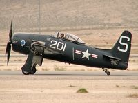 N7825C @ KLSV - American Airpower Heritage Flying Museum - Midland, Texas / 1948 Grumman F8F-2 Bearcat - Aviation Nation 2006