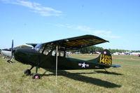 N4431C @ KLAL - Cessna L-19E - by Mark Pasqualino