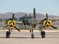 N30801 @ KLSV - American Aeronautical Foundation - Thousand Oaks, California / 1944 North American TB-25N Mitchell 'Executive Sweet' - Aviation Nation 2006
