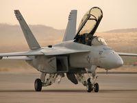 166466 @ KLSV - United States Navy - Boeing F/A-18F Super Hornet - Aviation Nation 2006